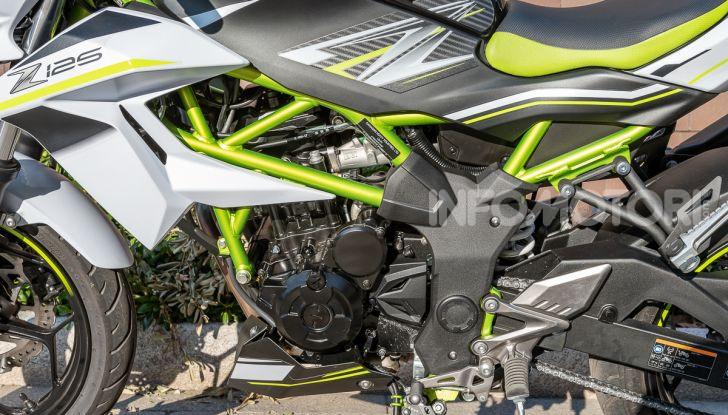 Kawasaki Z125 MY 2019: caratteristiche, opinioni e prezzo - Foto 22 di 43
