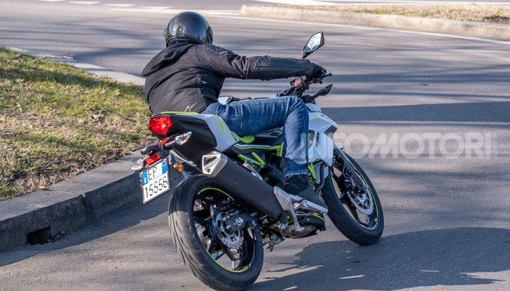 Kawasaki Z125 MY 2019: caratteristiche, opinioni e prezzo - Foto 32 di 43