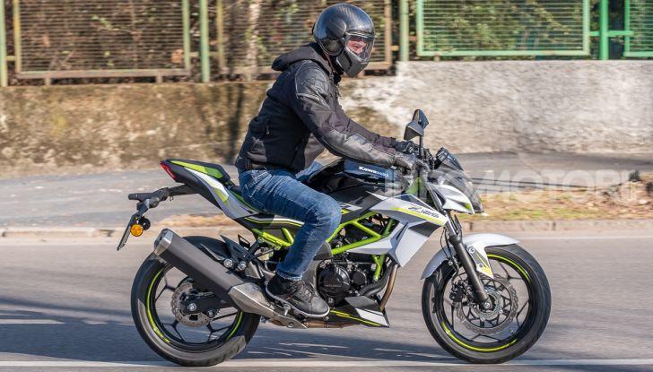 Kawasaki Z125 MY 2019: caratteristiche, opinioni e prezzo - Foto 36 di 43