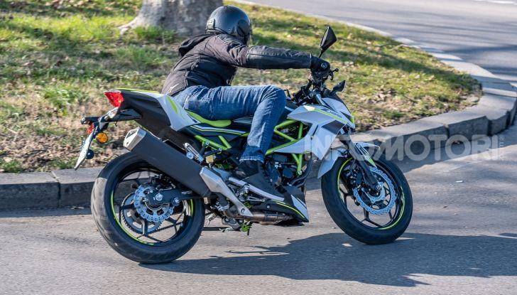 Kawasaki Z125 MY 2019: caratteristiche, opinioni e prezzo - Foto 40 di 43