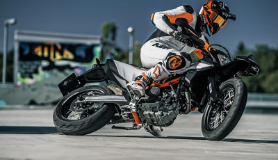 KTM 690 SMC R e KTM 690 Enduro R: le regine del motard e fuoristrada