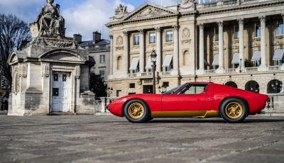 Lamborghini Miura SV di Jean Todt, un restauro meraviglioso