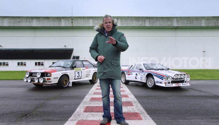 Audi Quattro VS Lancia 037: Italia-Germania raccontata da Jeremy Clarckson - Foto 1 di 24