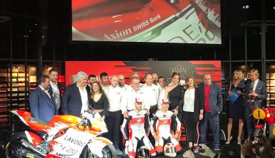MV Agusta pronta all'esame Moto2. In sella Dominique Aegerter e Stefano Manzi