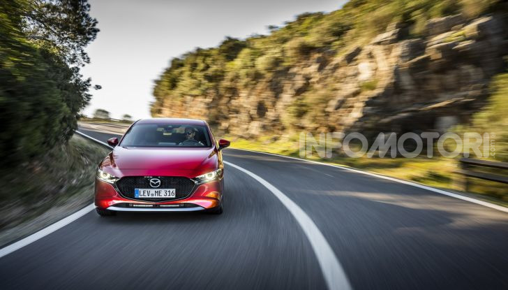 [VIDEO] Nuova Mazda3 2019: prova su strada della berlina giapponese - Foto 5 di 22