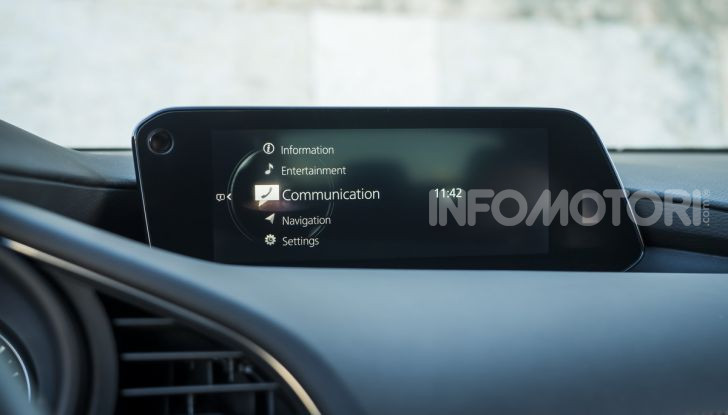 Nuova Mazda 3 2019 infotainment