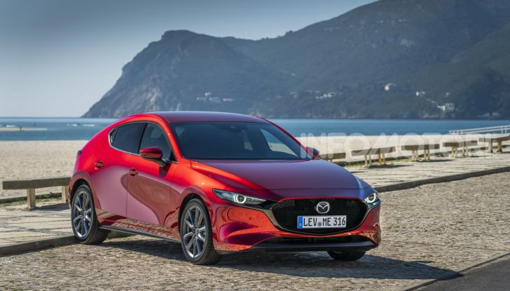 Nuova Mazda 3 2019 design
