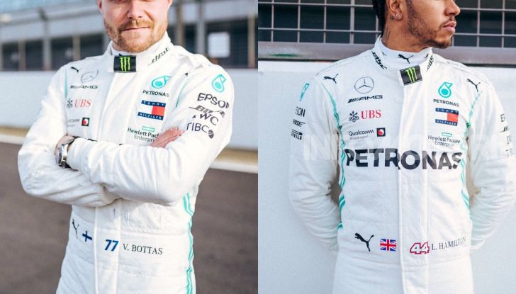 F1 2019: svelata la nuova Mercedes W10 - Foto 11 di 12