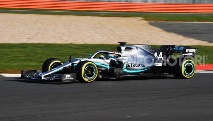 F1 2019: svelata la nuova Mercedes W10 - Foto 12 di 12