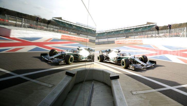 F1 2019: svelata la nuova Mercedes W10 - Foto 4 di 12