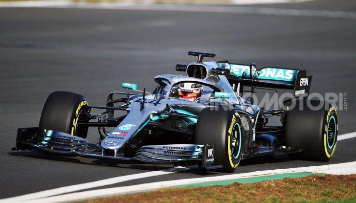 F1 2019: svelata la nuova Mercedes W10 - Foto 8 di 12