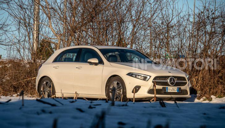Prova Mercedes Classe A 180 d: caratteristiche, opinioni e prezzi - Foto 33 di 57