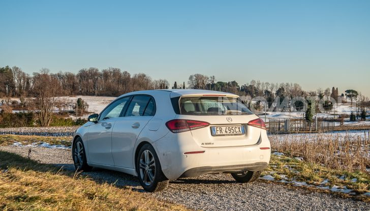 Prova Mercedes Classe A 180 d: caratteristiche, opinioni e prezzi - Foto 35 di 57