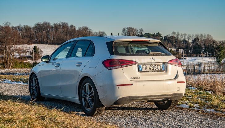 Prova Mercedes Classe A 180 d: caratteristiche, opinioni e prezzi - Foto 36 di 57