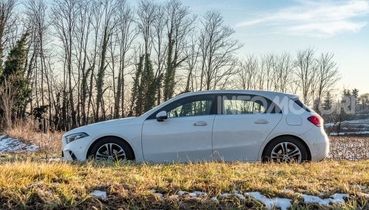 Prova Mercedes Classe A 180 d: caratteristiche, opinioni e prezzi - Foto 39 di 57