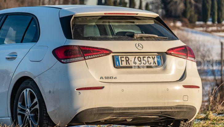 Prova Mercedes Classe A 180 d: caratteristiche, opinioni e prezzi - Foto 41 di 57