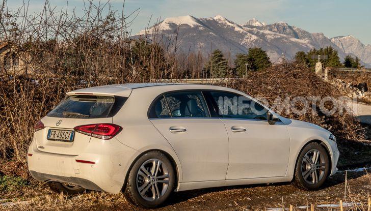 Prova Mercedes Classe A 180 d: caratteristiche, opinioni e prezzi - Foto 42 di 57