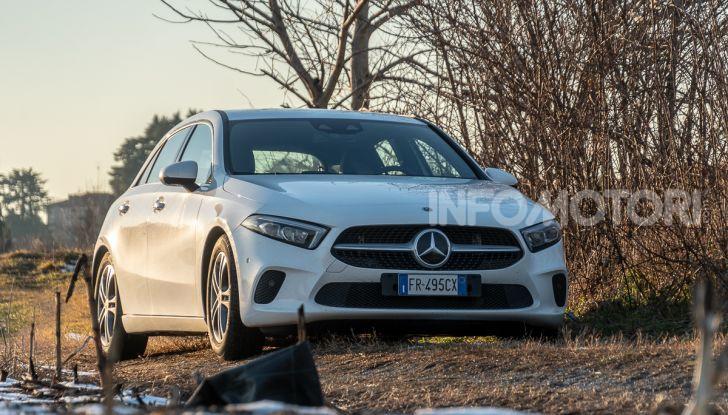 Prova Mercedes Classe A 180 d: caratteristiche, opinioni e prezzi - Foto 55 di 57