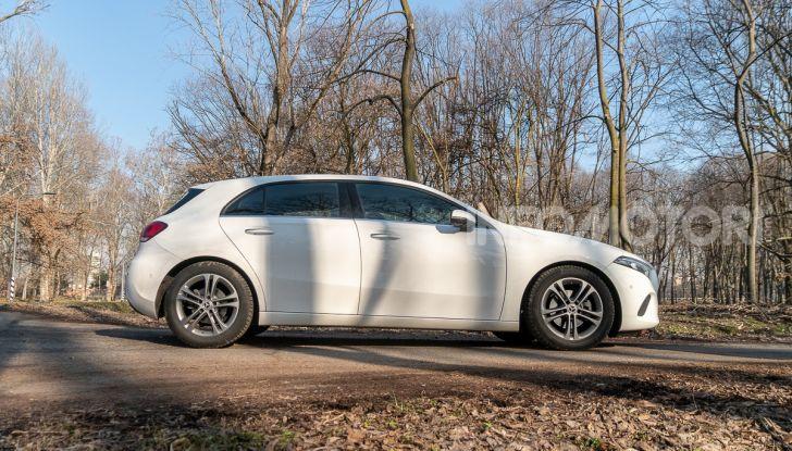 Prova Mercedes Classe A 180 d: caratteristiche, opinioni e prezzi - Foto 7 di 57