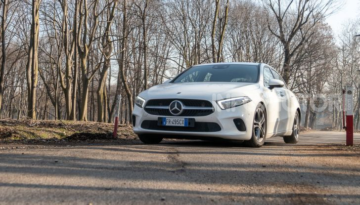 Prova Mercedes Classe A 180 d: caratteristiche, opinioni e prezzi - Foto 8 di 57