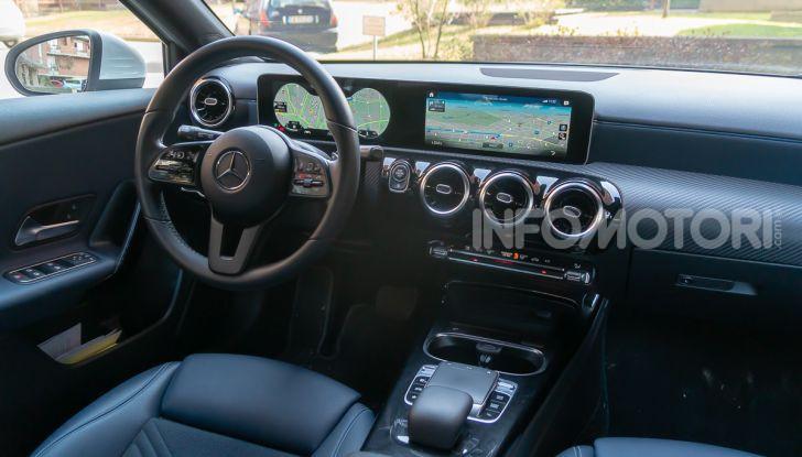 Prova Mercedes Classe A 180 d: caratteristiche, opinioni e prezzi - Foto 15 di 57