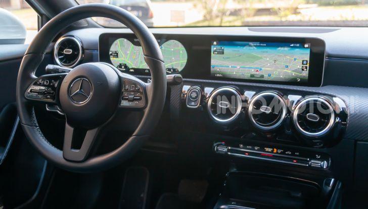Prova Mercedes Classe A 180 d: caratteristiche, opinioni e prezzi - Foto 16 di 57