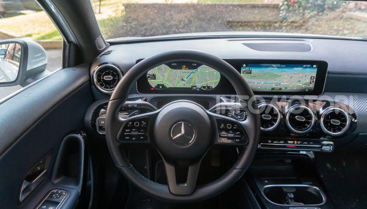 Prova Mercedes Classe A 180 d: caratteristiche, opinioni e prezzi - Foto 22 di 57
