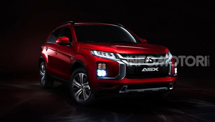 Nuovo Mitsubishi ASX 2020: restyling nipponico per il SUV compatto - Foto 4 di 4