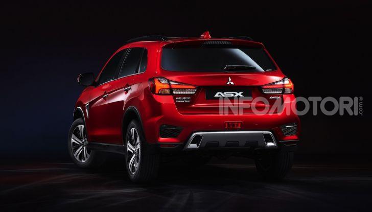 Nuovo Mitsubishi ASX 2020: restyling nipponico per il SUV compatto - Foto 2 di 4