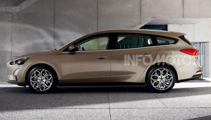 Nuova Ford Focus wagon, sicura per uomini e animali - Foto 4 di 7