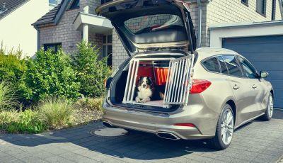 Nuova Ford Focus wagon, sicura per uomini e animali