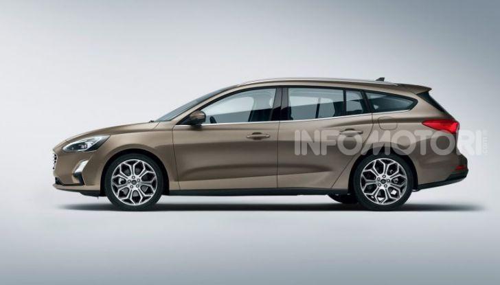Nuova Ford Focus wagon, sicura per uomini e animali - Foto 5 di 7