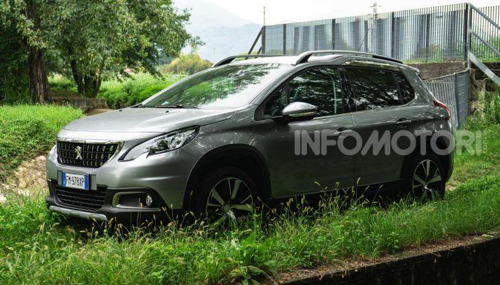 Prova nuova Peugeot 2008: il 110CV a benzina per correre in città - Foto 6 di 25