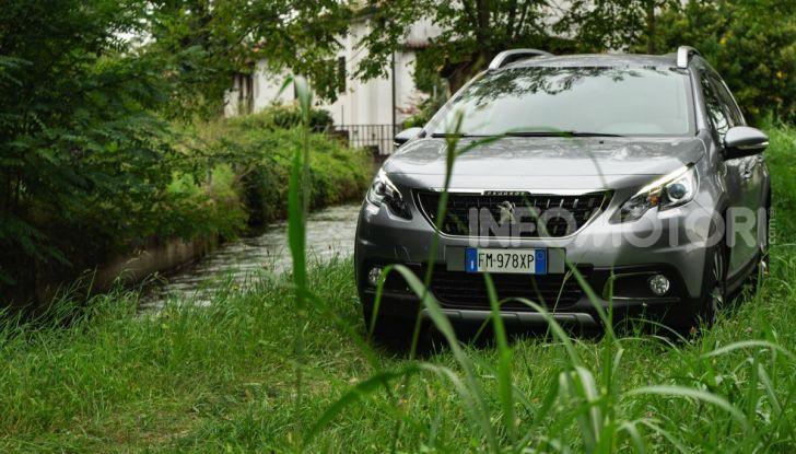 Prova nuova Peugeot 2008: il 110CV a benzina per correre in città - Foto 14 di 25