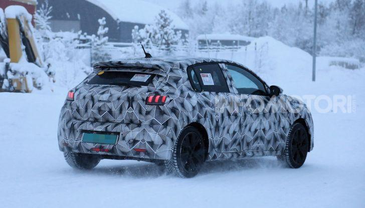 Peugeot 208 elettrica: dati, caratteristiche e prestazioni - Foto 7 di 8
