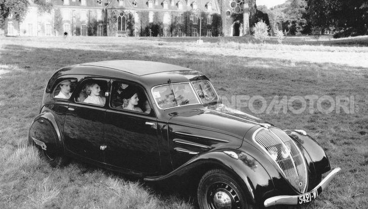 1934, Peugeot lancia la sfida all'aerodinamica - Foto 6 di 7