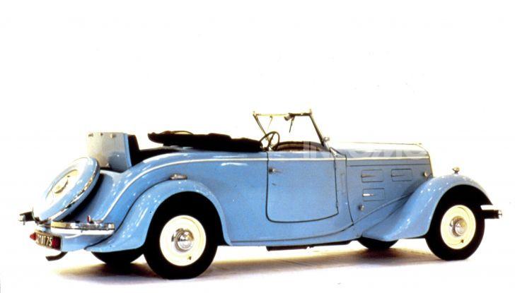 1934, Peugeot lancia la sfida all'aerodinamica - Foto 7 di 7