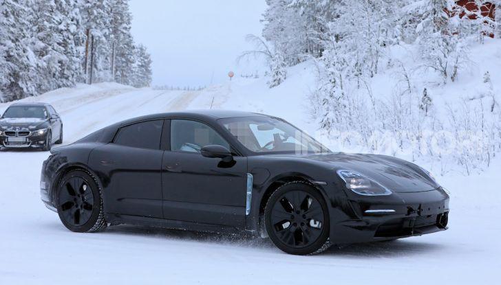 Porsche Taycan, questo il nome della 100% elettrica Mission E - Foto 1 di 38