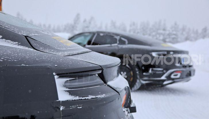Porsche Taycan, questo il nome della 100% elettrica Mission E - Foto 29 di 38