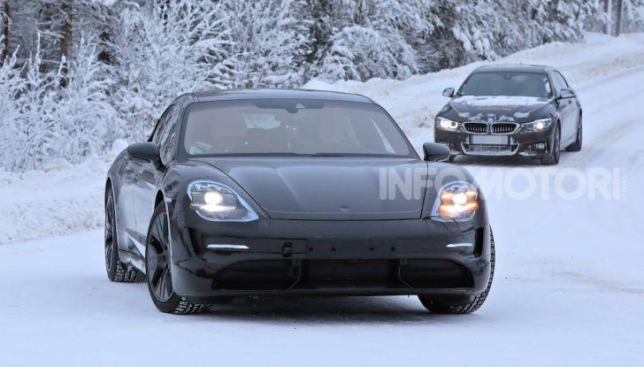 Porsche Taycan, questo il nome della 100% elettrica Mission E - Foto 4 di 38