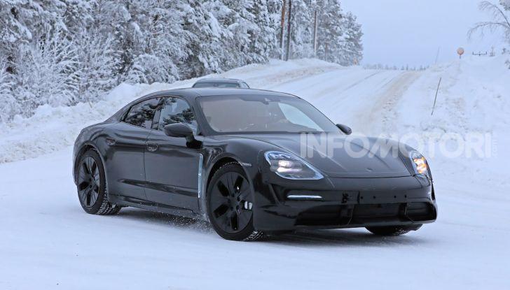 Porsche Taycan, questo il nome della 100% elettrica Mission E - Foto 5 di 38
