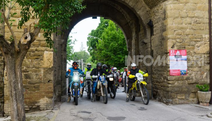 Queen Trophy 2019: mototurismo adventouring per le strade dell'Umbria - Foto 1 di 7