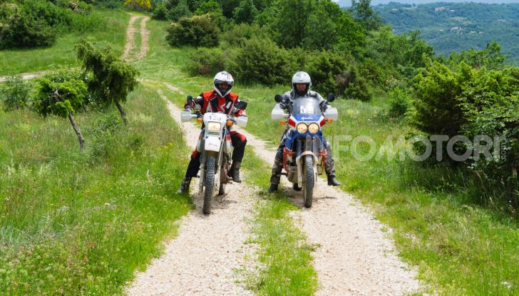 Queen Trophy 2019: mototurismo adventouring per le strade dell'Umbria - Foto 2 di 7