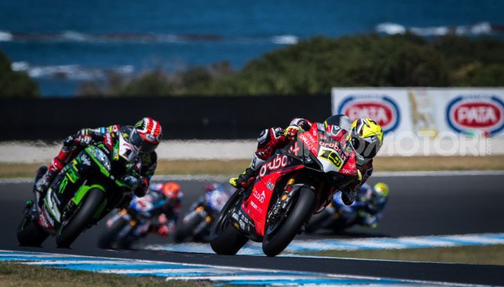SBK 2019, Phillip Island: Ducati Panigale V4R e Bautista sul tetto del mondo - Foto 2 di 16