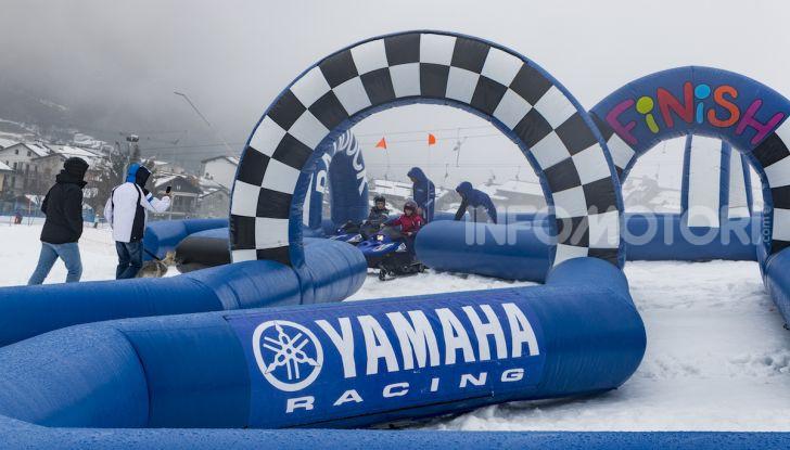 Bambini in sella: lo Snow Kids Yamaha con SRX 125 - Foto 3 di 7