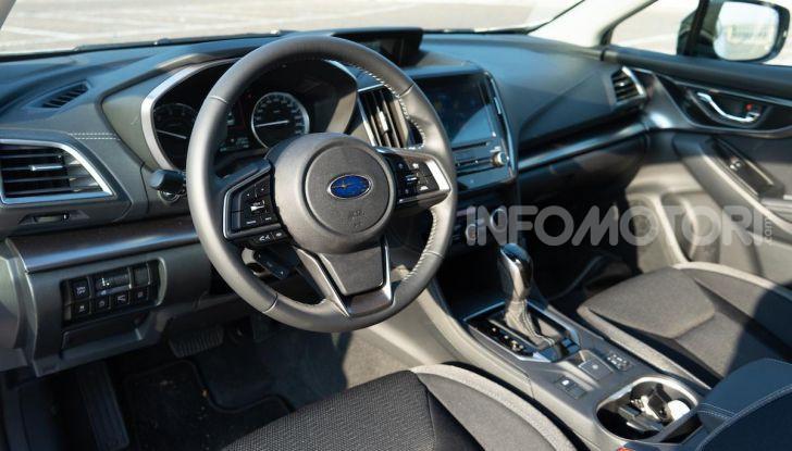 Prova nuova Subaru Impreza: caratteristiche, dotazioni e prezzi - Foto 28 di 34