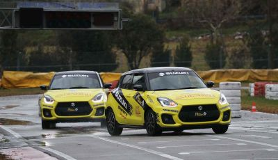 Suzuki Swift Sport auto ufficiale del Rally Italia Talent 2019