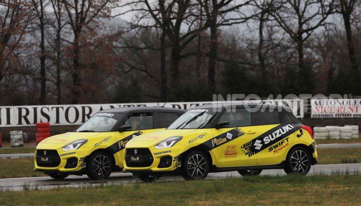 Suzuki Swift Sport auto ufficiale del Rally Italia Talent 2019 - Foto 8 di 11