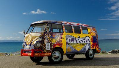 Volkswagen Bulli Light, replica dell'icona di Woodstock