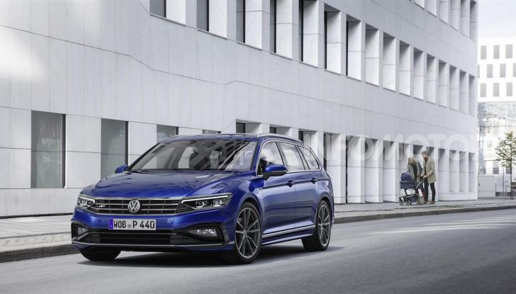 Volkswagen Passat 2019, nuovo design e motori - Foto 6 di 41